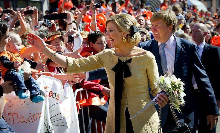 King's Day on 27 April 2014