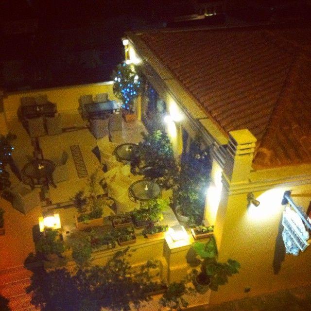 #amfitriti_hotels #palazzo #night #terrace #view #old_town #nafplio