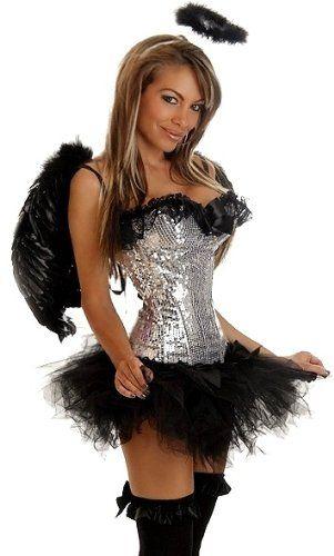 Homemade dark angel halloween costume-6181