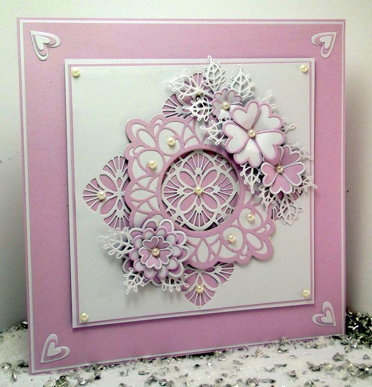 Dies by Sue Wilson #Crafting #crafts #hobbies #hobby #papercraft #dies #Hochanda #CreativeExpressions www.hochanda.com