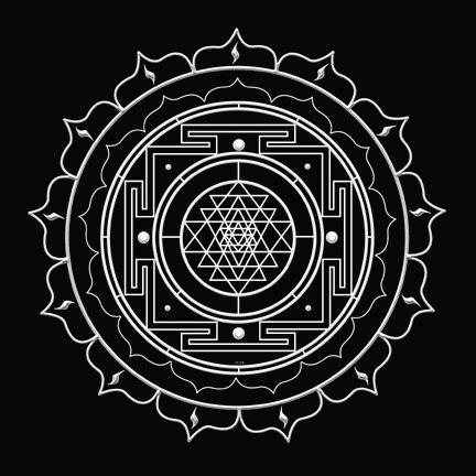 XIII Shri Vidya Yantra ~ Embracing the Transformation of Death-Mother