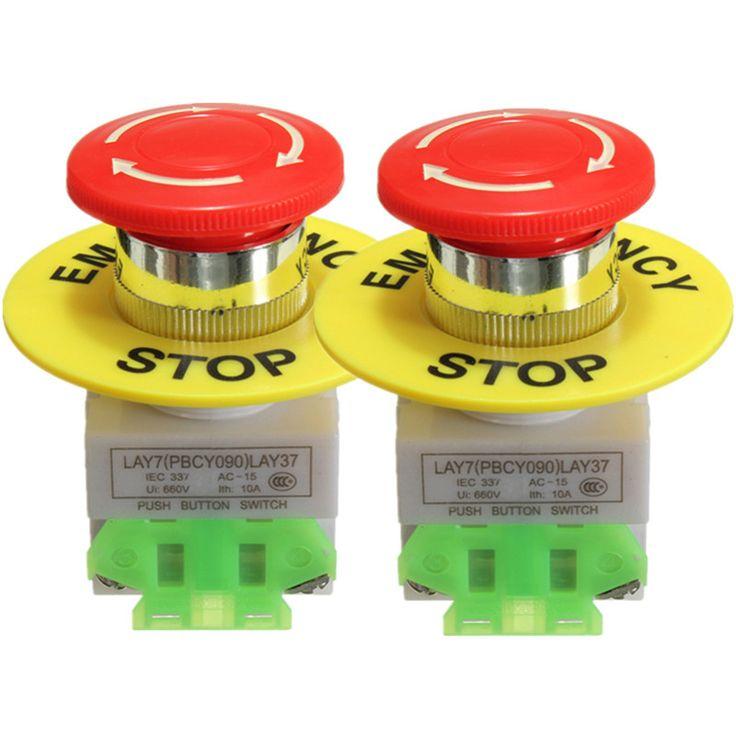 17 best ideas about bouton poussoir boutons de 2 unids amico red mushroom cap 1no 1nc pulsador de parada de emergencia interruptor de botón