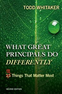 Infographic: What Great Principals Do Differently-18 Things That Matter Most > Eye On Education