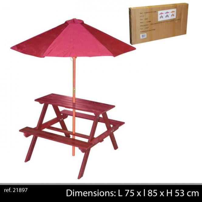 Salon Table De Jardin Parasol Enfant Bois Deco Chambre Insolite With Regard To 20 Tendances Des Photos De Salon De Jardin Enfa