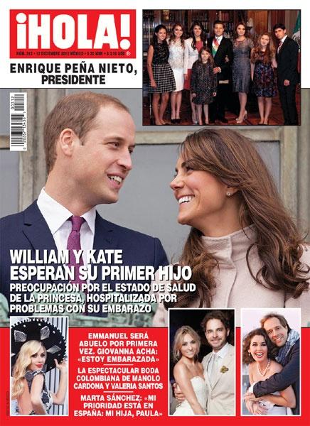 Esta semana en ¡HOLA!: William y Kate esperan su primer hijo