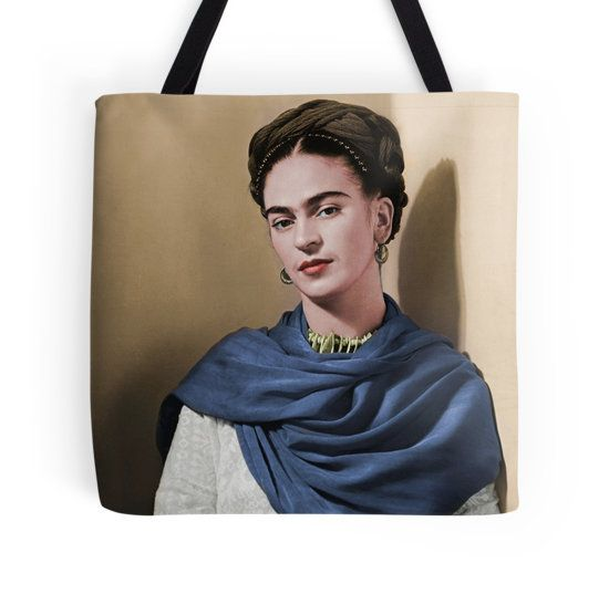 Tote Bag - Frida & Audrey Hepburn by VIDA VIDA