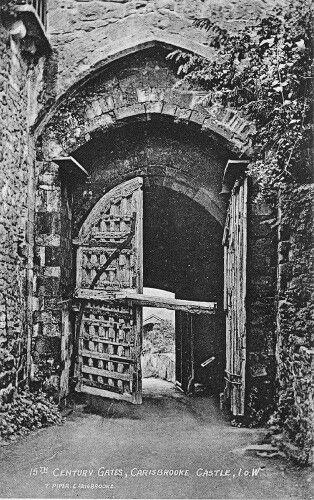Carisbrooke Castle Gate.