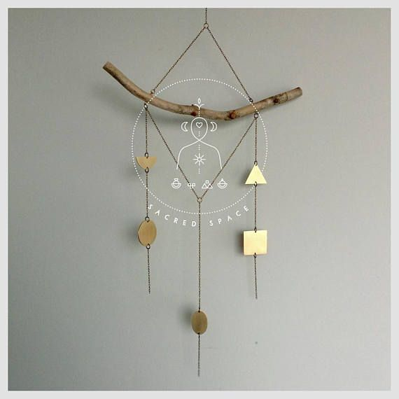 ATMA  Sacred Space  The 5 Cosmic Elements wall hanger  01