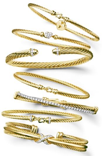 David Yurman - without all that sterling silver...what I've been waiting for!!