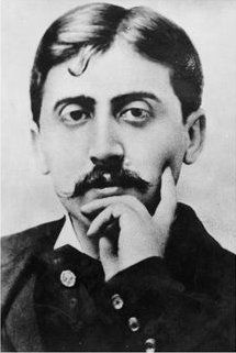 "Reading Proust: A blog:  ""I'm French and I chose to write in English....I only write my thoughts and nothing says that what I write makes sense or is accurate."" (http://bookaroundthecorner.wordpress.com/reading-proust/)"