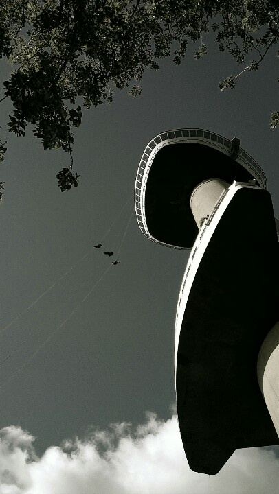 'Euromast' tower, Rotterdam
