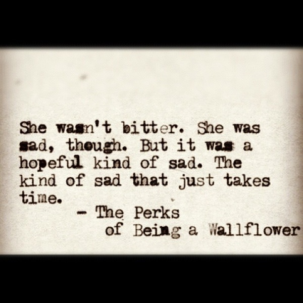 The Perks Of Being A Wallflower Book Quotes. QuotesGram