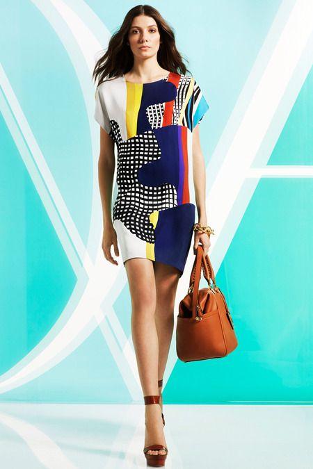 Diane von Furstenberg   Pre-Fall 2014 Collection   Style.com