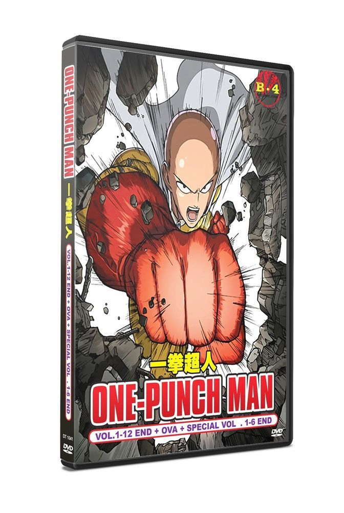 One Punch Man + OVA + Special Anime DVD Box Set