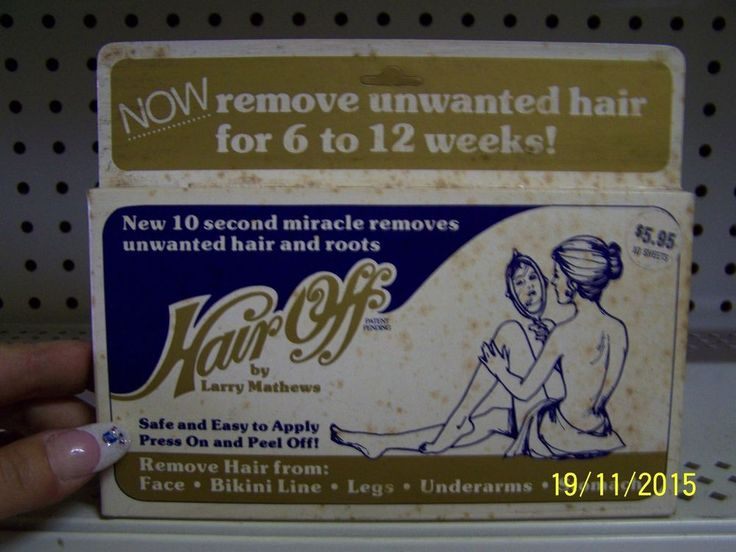 Vintage Hair Off By Larry Mathews