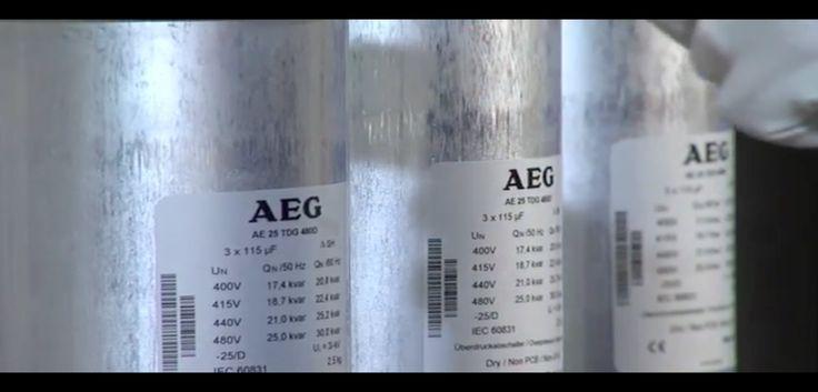 Drehstrom Leistungskondensatoren TDG AEG: für Blindleistungs-Kompensation und Filteranwendungen.Sehen Sie hier alles über die neue Hochleistungkondensatoren von AEG aus der TDG Serie AE 25 TDG 4800. Mehr Informationen unter: https://www.youtube.com/channel/UCD8u2dkC9QLdQRop2_5DlIQ