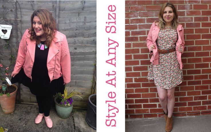 #StyleAtAnySize - Pastel Leather Jacket