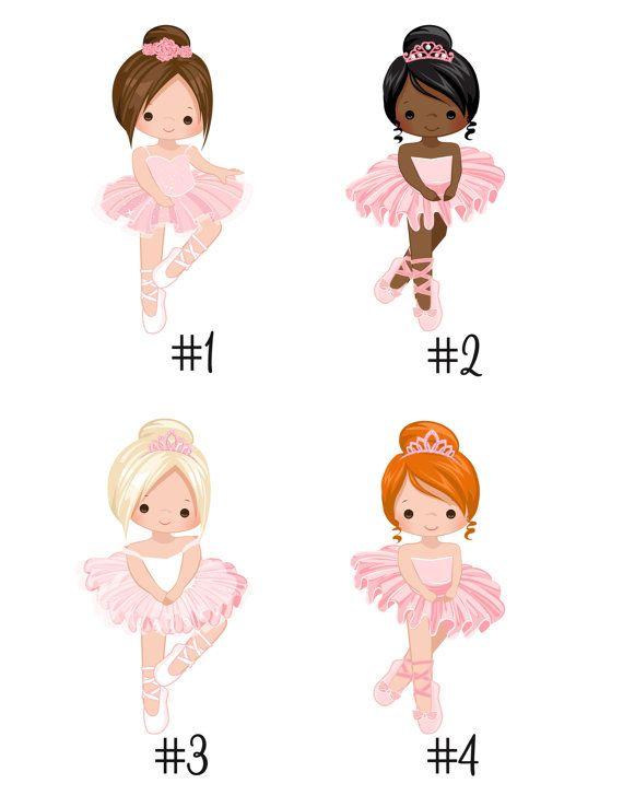 Fiesta de cumpleaños del Ballet Ballet de invitación de