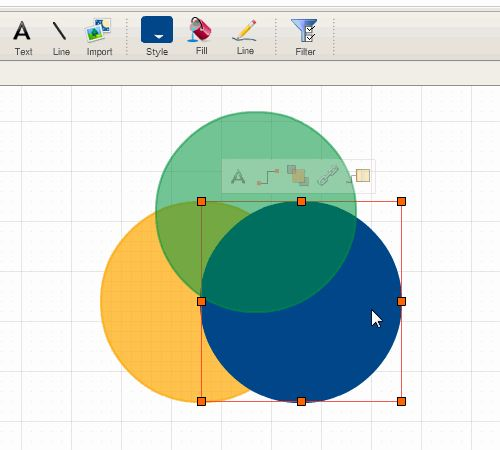 How To Create Venn Diagrams Easily Using Creately Manual Guide
