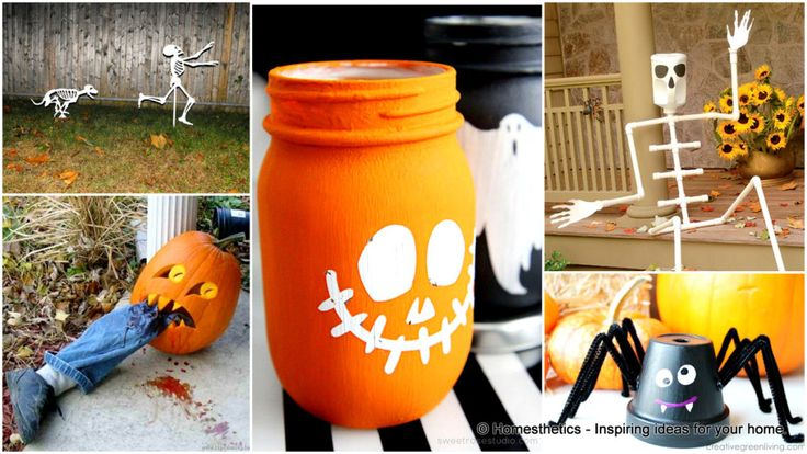 17 Super Ingenious Smart Easy-to-Make Halloween Decor For Your Household