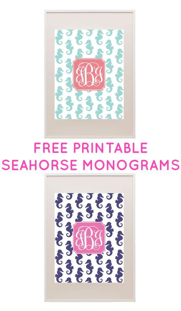 1000 ideas about free printable monogram on pinterest printable monogram free monogram and for Free monogram printable