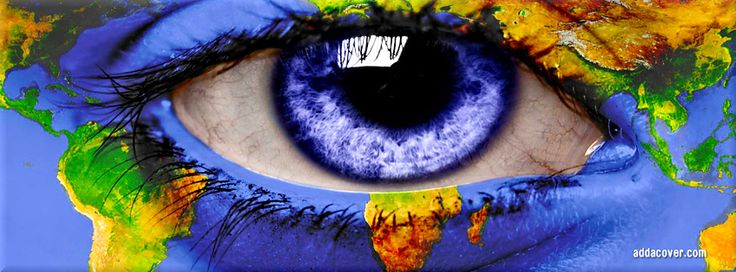 Earth Eye Facebook Covers, Earth Eye FB Covers, Earth Eye Facebook Timeline Covers, Earth Eye Facebook Cover Images