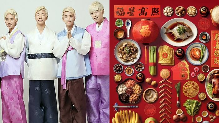 We bet all the Asian pop stars will be digging into their fav dishes over Lunar New Year.