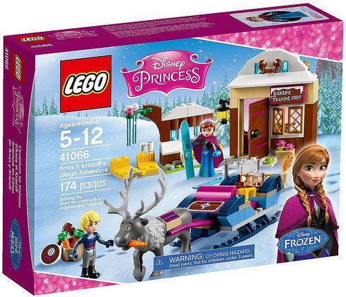 LEGO Disney Princess Frozen Anna & Kristoff's Sleigh Adventure ...