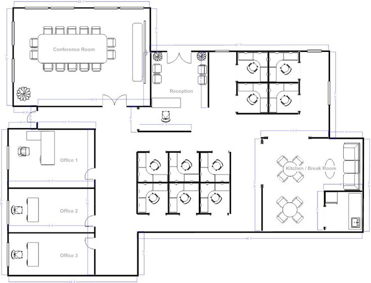 48 best office layout images on pinterest wayfinding Plan my room layout