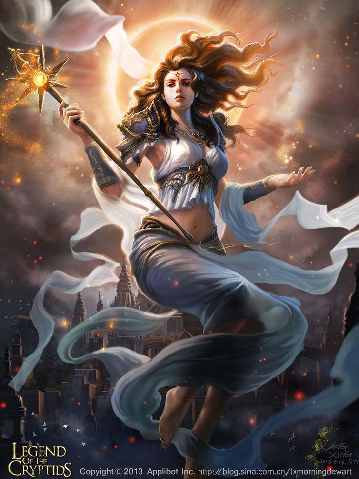 太陽の女神マリナ2 by liangxing, Legend of the Cryptids