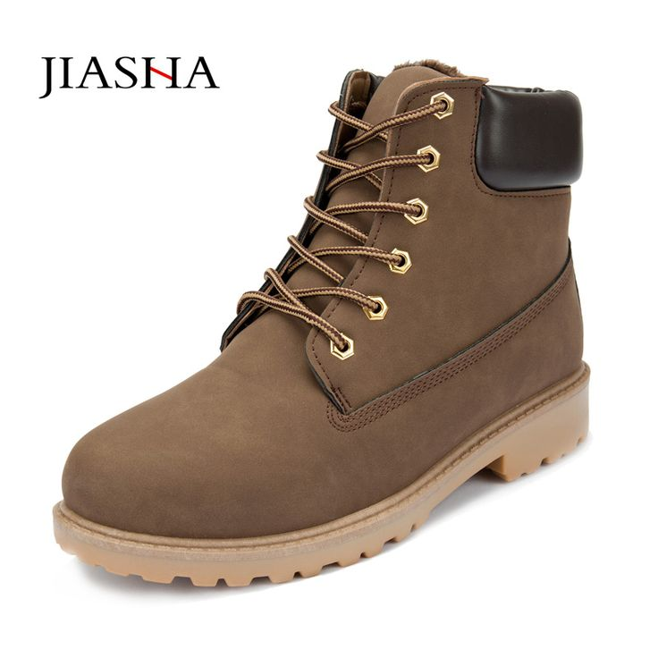 ==> [Free Shipping] Buy Best Men Winter Boots 2016 new PU Leather men boots Hot Sell Plus cotton snow boots Warm Winter men shoes Online with LOWEST Price | 32415350769