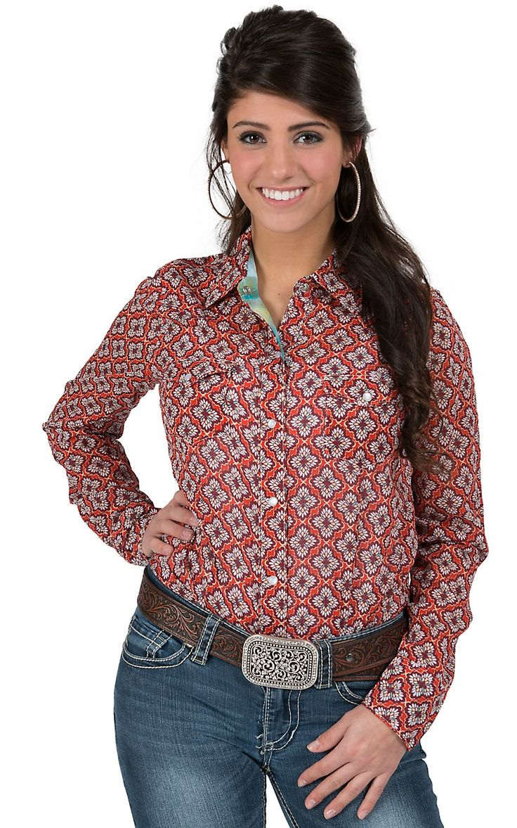 41 best images about cowgirl camisas vaqueras on pinterest for Ranch dress n rodeo shirts