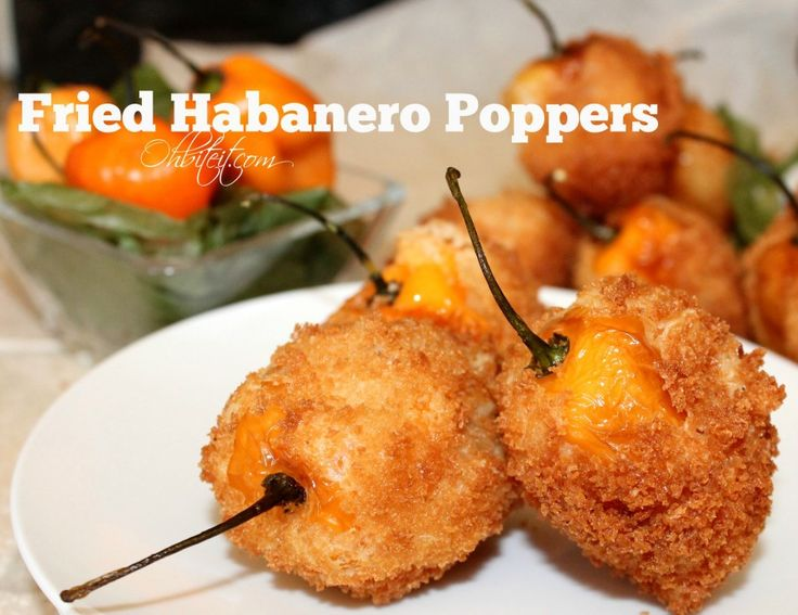~Fried Habanero Poppers!! | Oh Bite It