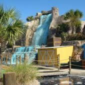 Tropical Adventure Mini Golf - Calabash, NC  47 for one game, $8 for all day. Plus $1 fee if you use a debit card