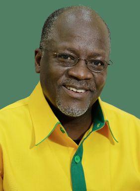 G=Government John Magufuli, Tanzania's 5th president