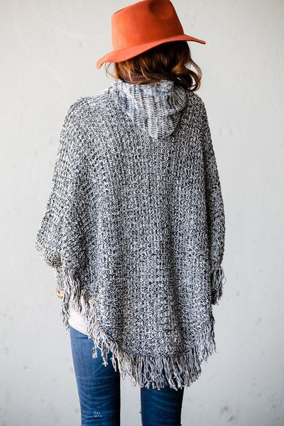 Knitting Pattern Hooded Poncho : 17 Best images about Knitted Mancho/Poncho/Serape/Cape ...