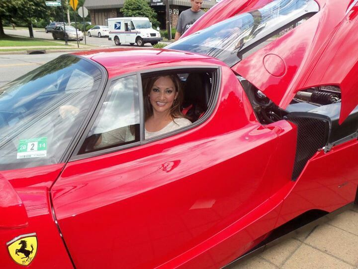 George Press Jewelers Hosts Fundraising Event with Some Pretty Hot Rides.  The vehicles present were the Ferrari 599 GTO, Ferrari Enzo, Ferrari Scuderia Spider 16M, and the latest Ferrari 458 Spider from the collection of local Ferrari enthusiast, Richard Stein.  With Jersey Fashionista.