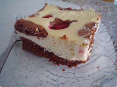 Ahududu -Krem peynirli Kek | SOFRAMIZ.com
