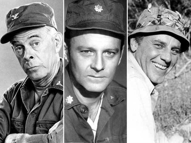 "Harry Morgan, Larry Linville, McLean Stevenson.  I will always remember how hard I cried when Radar announced that "" I have a message: Lt. Col.Henry Blake's plane...was shot down... over the Sea of Japan. It spun and . . . there were no survivors."""