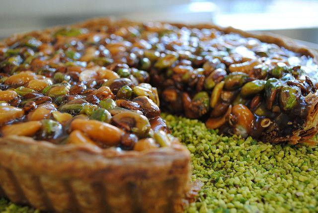 Caramel Nut Tart by breannev, via Flickr | I love other yummy foods ...