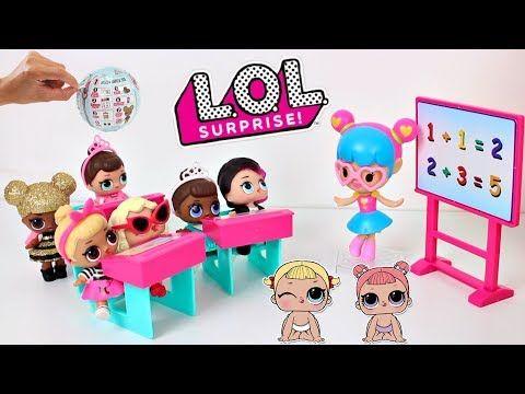 Bonecas LOL Surpresa A Professora Não Deixa as Alunas Serem Líderes de Torcida -Brinquedonovelinhas - YouTube