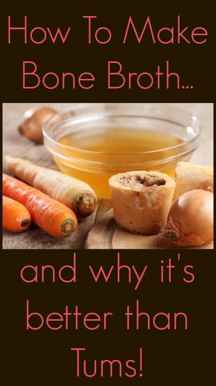 How to Make a Good Bone Broth and Why It's Better than Tums – The Coconut Mama