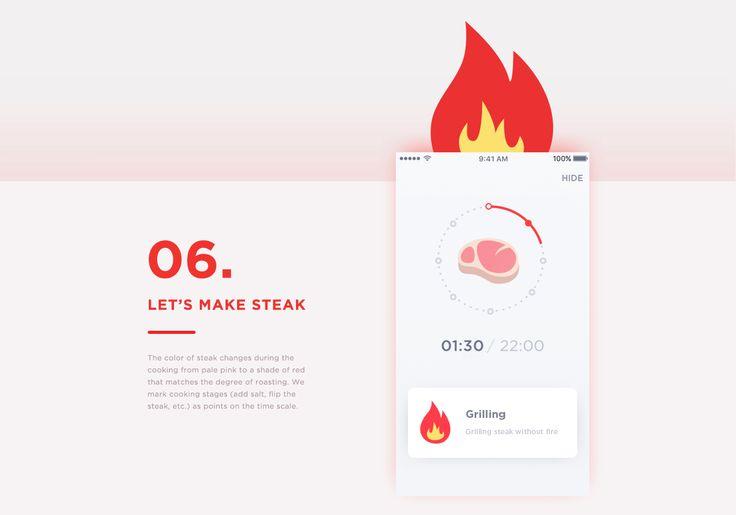 Make Steak Application on Behance