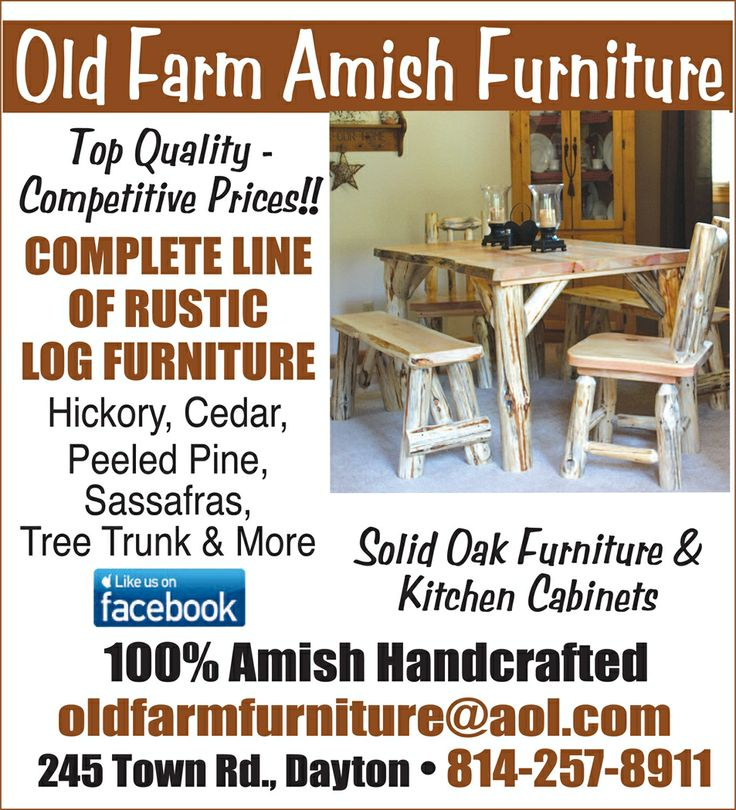 25 best smicksburg amish country love it there for Furniture indiana pa