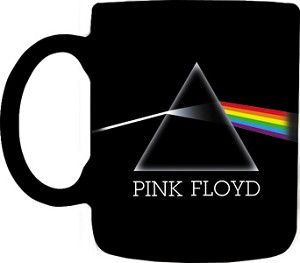 Pink Floyd - Dark Side of the Moon Mug  Have your coffee or your tea on the Dark Side of the Moon. 11 oz. ceramic coffee mug with full color design. Officially licensed Pink Floyd merchandise. #sunshinedaydream #hippieshop