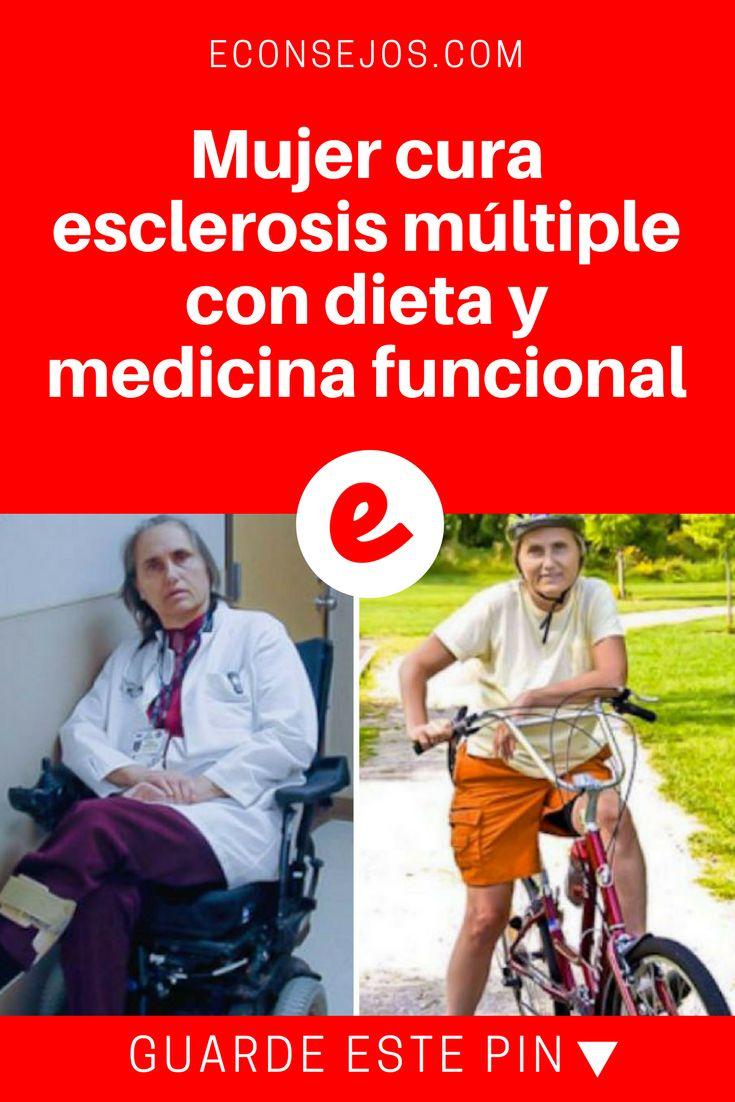 Esclerosis multiple español | Mujer cura esclerosis múltiple con dieta y medicina funcional | Mujer cura esclerosis múltiple con dieta y medicina funcional.