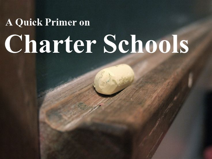 A Quick Primer On Charter Schools Good pass-through to other Ed blogs