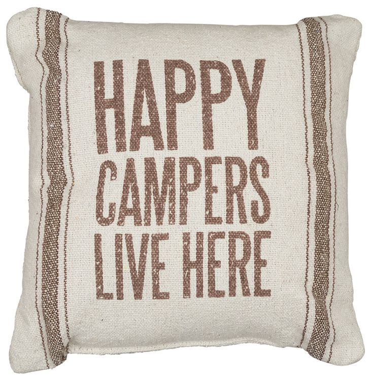 Rustic Campers Accent Pillow