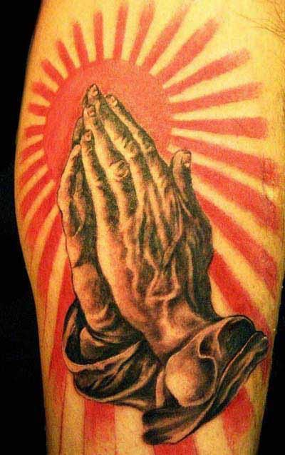 Praying Hands Canvas Painting Ideas