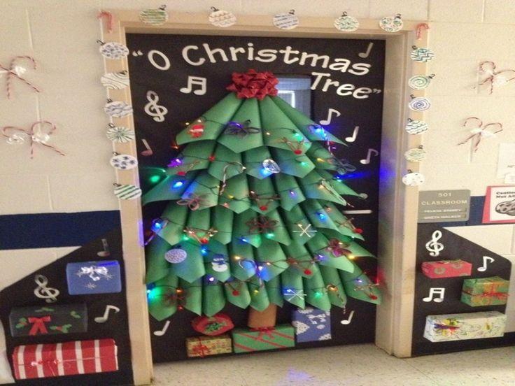 Image For Best Christmas Door Decorations Pinterest Gallery